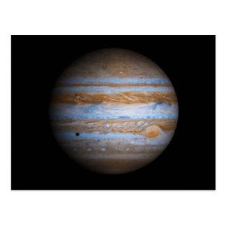Foto imponente del planeta Júpiter Postales