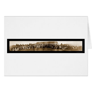 Foto india 1914 del tratado de las tribus tarjeta