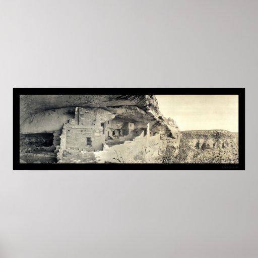 Foto india 1918 de la casa del balcón impresiones