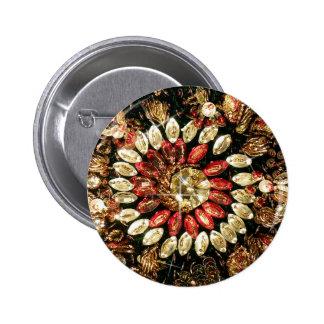 Foto india moldeada de la sari pin redondo de 2 pulgadas