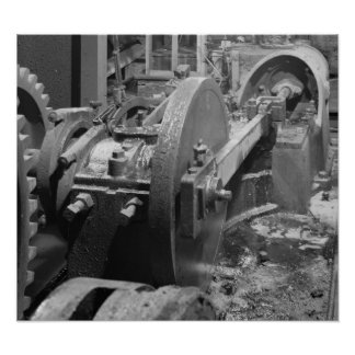 Foto industrial - pistón del vapor de Headhouse Posters