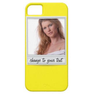 Foto inmediata - photoframe - en amarillo funda para iPhone SE/5/5s