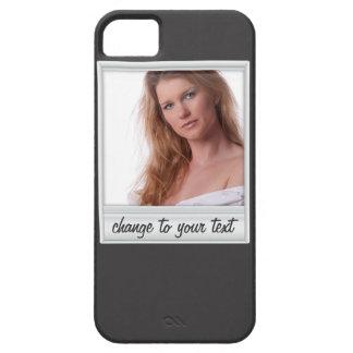 foto inmediata - photoframe - en negro funda para iPhone SE/5/5s