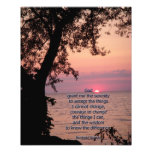 Foto inspirada de la puesta del sol del rezo de la