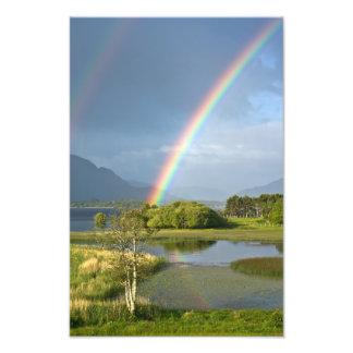 Foto irlandesa del arco iris