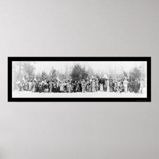 Foto Iroquois 1914 de los indios Impresiones