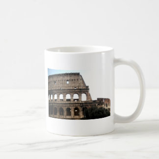 Foto italiana del viaje de Colosseum Taza Básica Blanca