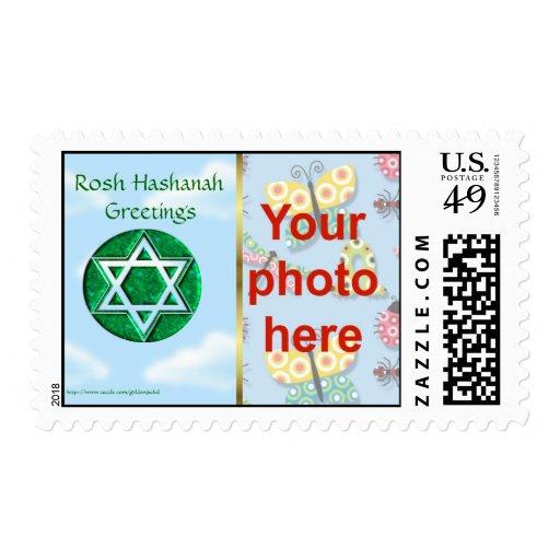 Foto judía del personalizado del día de fiesta de  sello
