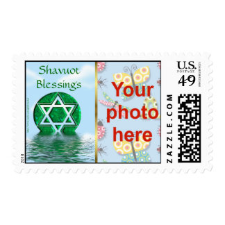 Foto judía del personalizado del día de fiesta de sellos