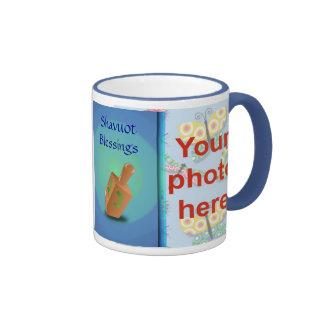 Foto judía del personalizado del día de fiesta de  tazas de café