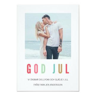 Foto Julkort | Ljusa och färgrika Card