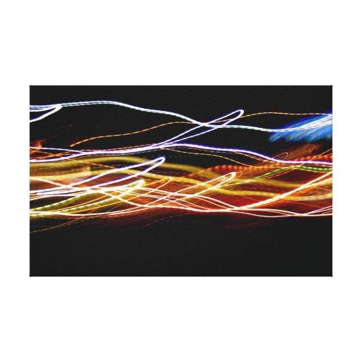 """Foto ligera abstracta """"Choropsin """" de la pintura Impresión En Lienzo Estirada"""