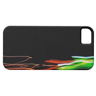 Foto ligera abstracta Glent de la pintura iPhone 5 Carcasa
