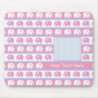 Foto linda Mousepads de los elefantes