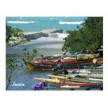 Foto local de Jamaica del río de Negril de los bar Tarjeta Postal