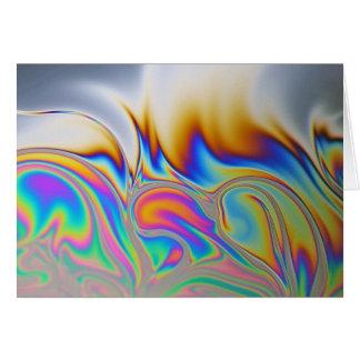 Foto macra de una burbuja de jabón felicitaciones