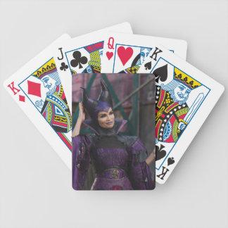 Foto maléfica 1 2 cartas de juego
