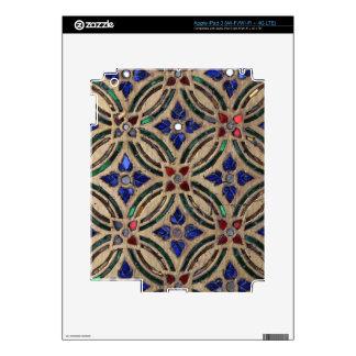 Foto marroquí de cristal de la piedra del modelo d iPad 3 pegatina skin