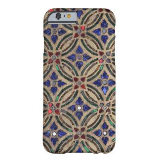 Foto marroquí de cristal de la piedra del modelo funda para iPhone 6 barely there