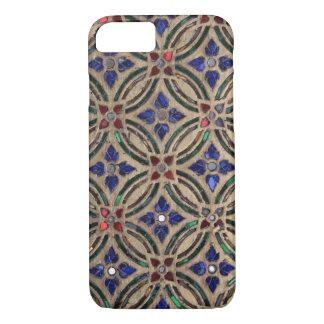 Foto marroquí de cristal de la piedra del modelo funda iPhone 7