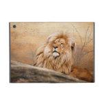 Foto masculina del león iPad mini coberturas