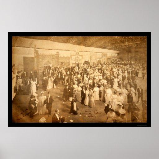 Foto masónica 1906 de DC del festival Impresiones