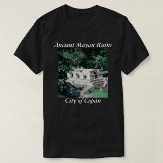 Foto maya antigua de Copan de las ruinas diseñada Playera