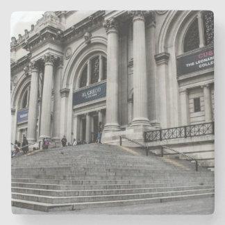 Foto metropolitana del museo de arte (ENCONTRADO) Posavasos De Piedra