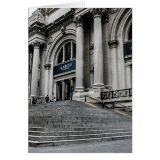 Foto metropolitana del museo de arte (ENCONTRADO) Tarjeta De Felicitación