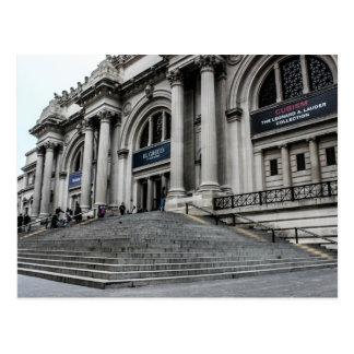 Foto metropolitana del museo de arte (ENCONTRADO) Postal