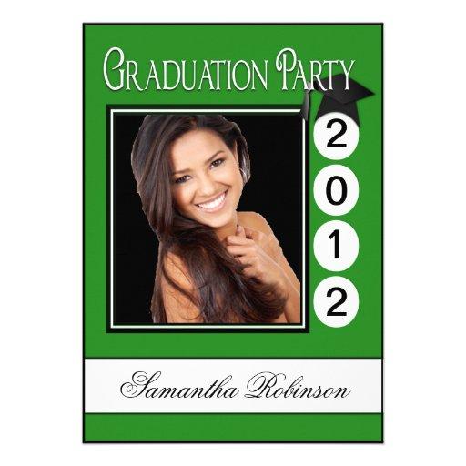 Foto moderna del personalizado de la fiesta de gra invitación
