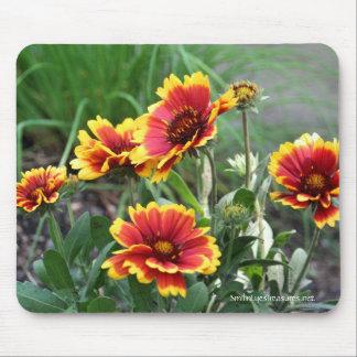 Foto Mousepad de las flores combinadas Tapete De Ratones