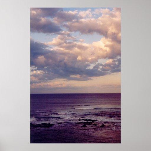 Foto mullida de los cielos poster