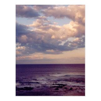 Foto mullida de los cielos tarjeta postal