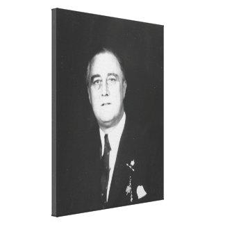 Foto nacional de los archivos de FRANKLIN D. Impresiones En Lona Estiradas