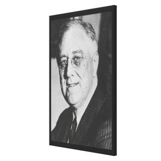 Foto nacional de los archivos de FRANKLIN D. ROOSE Impresión En Lona Estirada