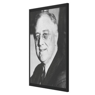 Foto nacional de los archivos de FRANKLIN D. ROOSE Lona Estirada Galerias