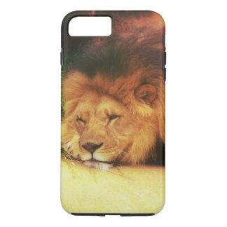 Foto Napping del animal salvaje de rey Of The Funda iPhone 7 Plus