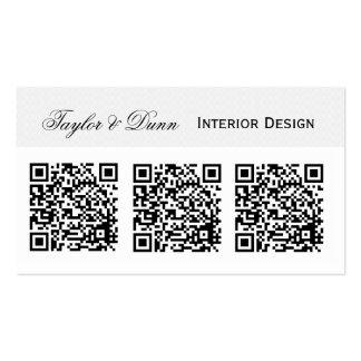 Foto o logotipo   del código de Smartphone QR Tarjetas De Visita