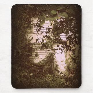 Foto olvidada de la puerta alfombrillas de ratón