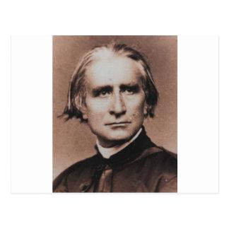 Foto original de Liszt, pianista de virtuoso Postal