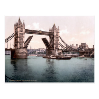 Foto original de Londres TowerBridge 1900's Postales