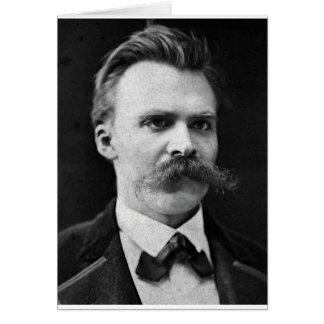 Foto original del b&w de Friedrich Nietzsche Felicitaciones