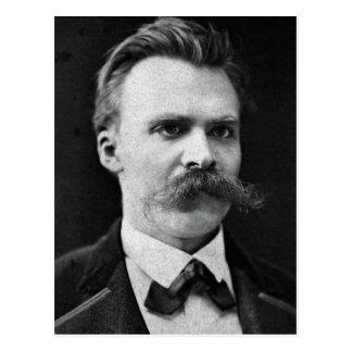 Foto original del b&w de Friedrich Nietzsche Tarjeta Postal