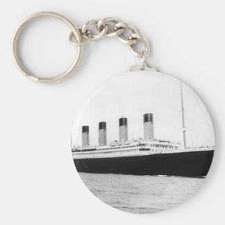Foto original del vintage de titánico llaveros personalizados