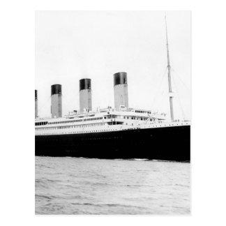 Foto original del vintage de titánico tarjetas postales