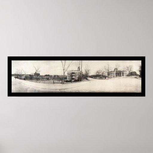 Foto panorámica 1916 de Tuskegee Posters