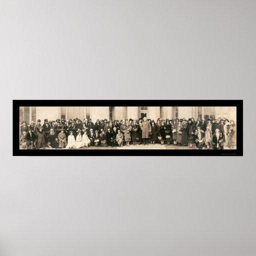 Foto para mujer 1926 de DC de la conferencia Posters