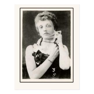 Foto pelada elástico de la mujer en las tarjetas,  tarjetas postales