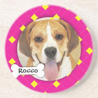 Foto personalizada del perro de Argyle Posavasos Manualidades